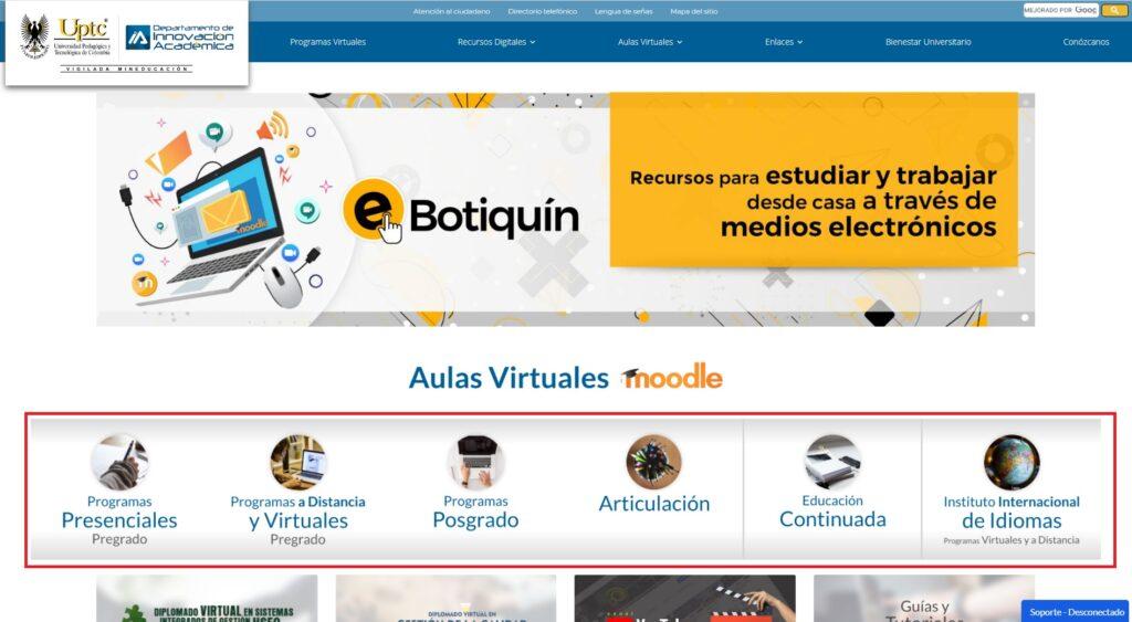 Aula virtual UPTC