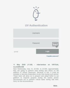 correo UV Universidad de Valencia